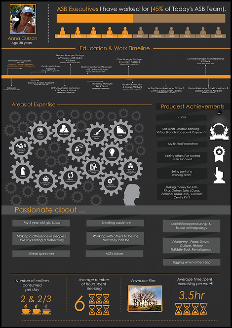 CV Anna Curzon Infographic