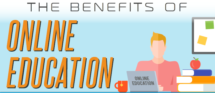 The BENEFITS OF ONLINE EDUCATION-INFOGRAPHIC