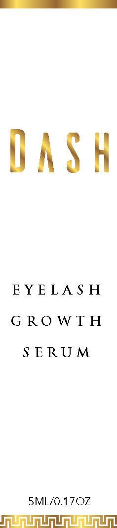 Dash Growth Serum Packaging