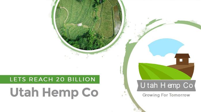 Utah Hemp Co pitch deck presentation