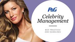 P&G Celebrity Management