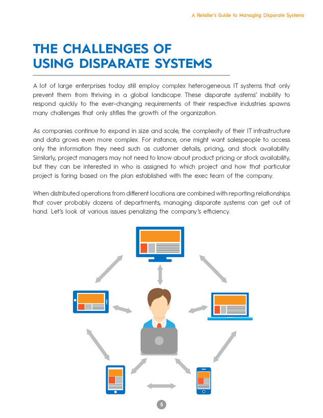 A Retailer's Guide To Managing Disparate Systems