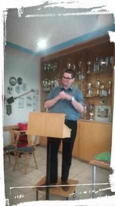Sascha Reiff als Abteilungsleiter Kartenspiele im GSV Bamberg e.V. und auch Veranstalter im Skat-Inklusionsturnier bedankt an alle hörgeschädigten und hörende Skatspieler/innen sehr!!!