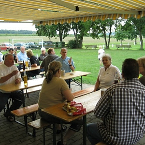 Deutsche Meisterfeier in Melkendorf