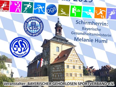 15. Bayerisches Gehörlosen Sportfest in Bamberg