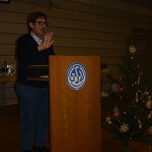 GSV mit Abteilungen Fußball, Kegel und Schützen  Weihnachtsfeier 2017