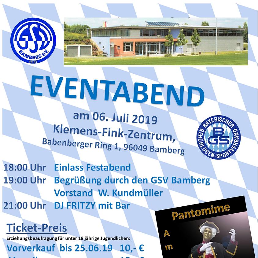 15. Bayerisches Gehörlosen Sportfest EVENTABEND