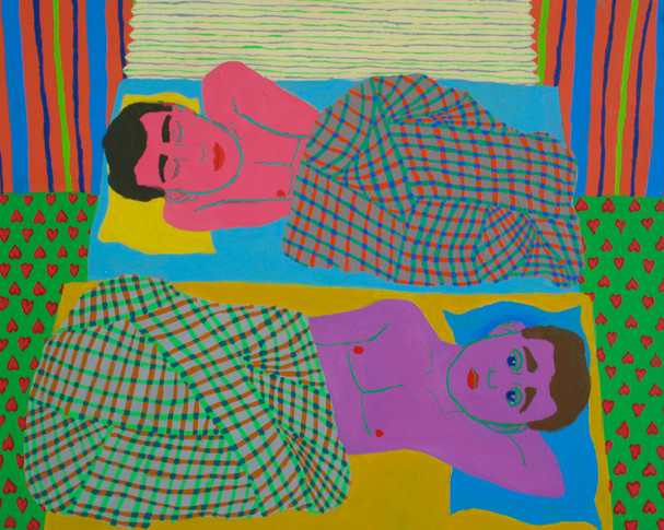 Twin beds/slumberparty