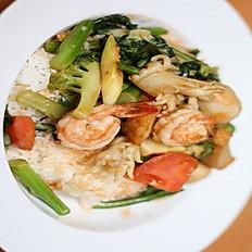 R10. Shrimp Curry Stir-Fried Vegetables
