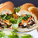 A14. Grilled Black Angus Steak Banh Mi