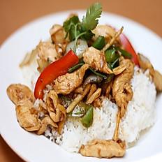 R10. Chicken Curry Stir-Fried Vegetables