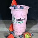 B18. Fresh Strawberry Blueberry Smoothie