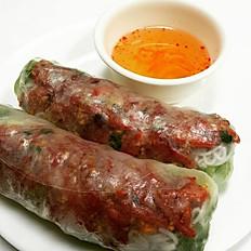 A2. Grilled Pork Spring Rolls (2)