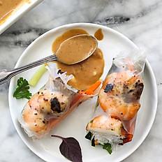 A2. Grilled Shrimp Spring Rolls (2)