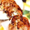 A8. Marinated Grilled Shrimp Skewers