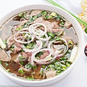 P3. Angus Eye-Round Steak & Meatballs Pho