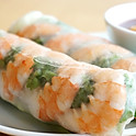 A2. Shrimp or Pork Spring Rolls (2)