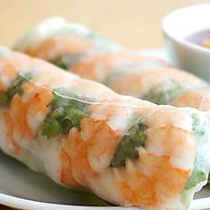 A2. Shrimp or Pork Spring Rolls (2)