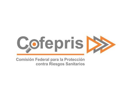 Los trámites de importación de COFEPRIS se realizarán a través de VUCEM