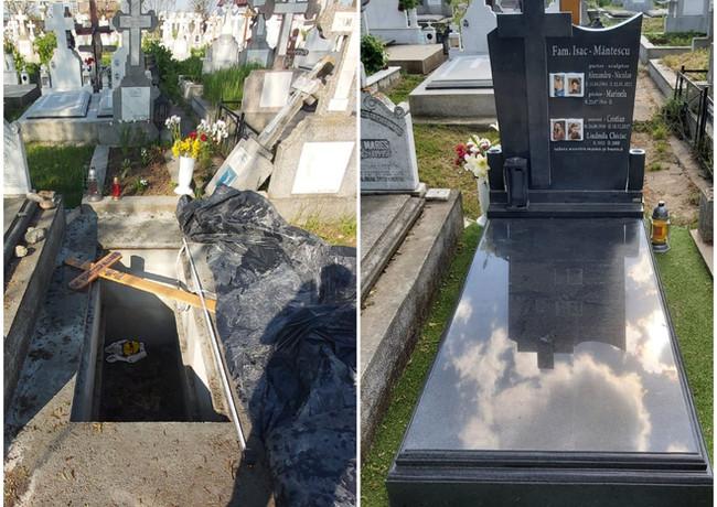 Constructii funerare complete. Amintire Vie