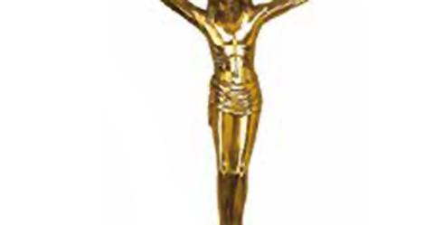 Crucifix bronz P2014 30x20cm