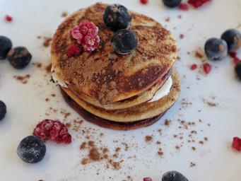 2 Ingredient Pancakes | High Protein Pancake Recipe