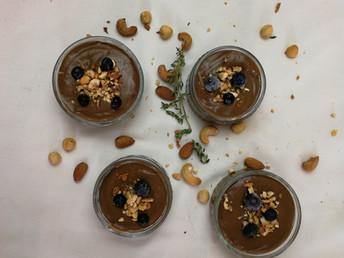 COCONUT AVOCADO CHOCOLATE MOUSSE