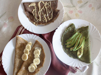 3 HEALTHY CREPE RECIPES [VIDEO]