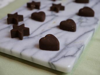 BITTER CHOCOLATE TAHINI BITES [VIDEO]