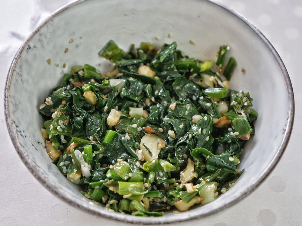 Morning Glory Salad Vietnamese Salad