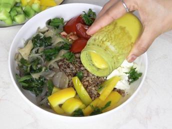 Mustard & Extra Virgin Olive Oil Salad Dressing