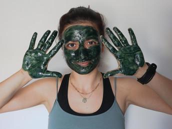 SPIRULINA FACE MASK with OLIVE OIL