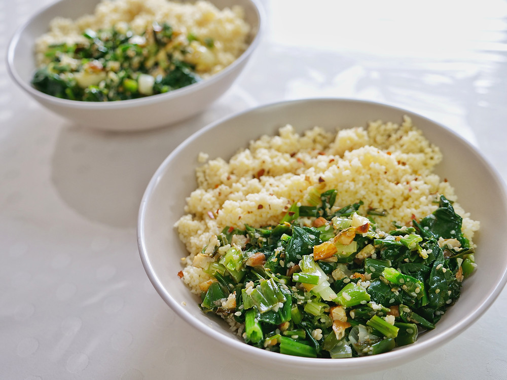 Morning Glory Salad Vietnamese Spinach Salad
