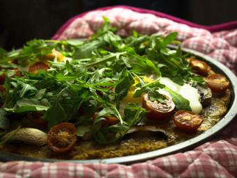 SWEET POTATO BASE PIZZA | HEALTHY PIZZA