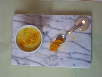 Coconut Turmeric Latte | Golden Milk Recipe