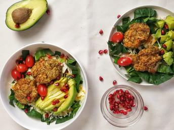 Gluten Free Salmon Cakes | Healthy Salmon Patties with Seeds
