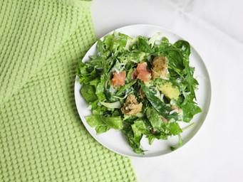 Folic Acid Rich Green Salad