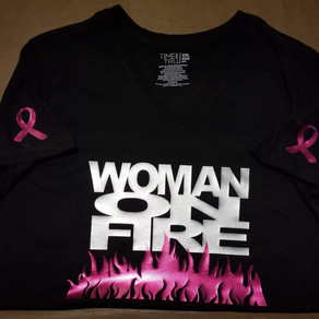 Woman On Fire Pink Edition Shirts~