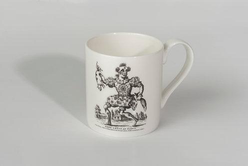 Clown Bone China Mug