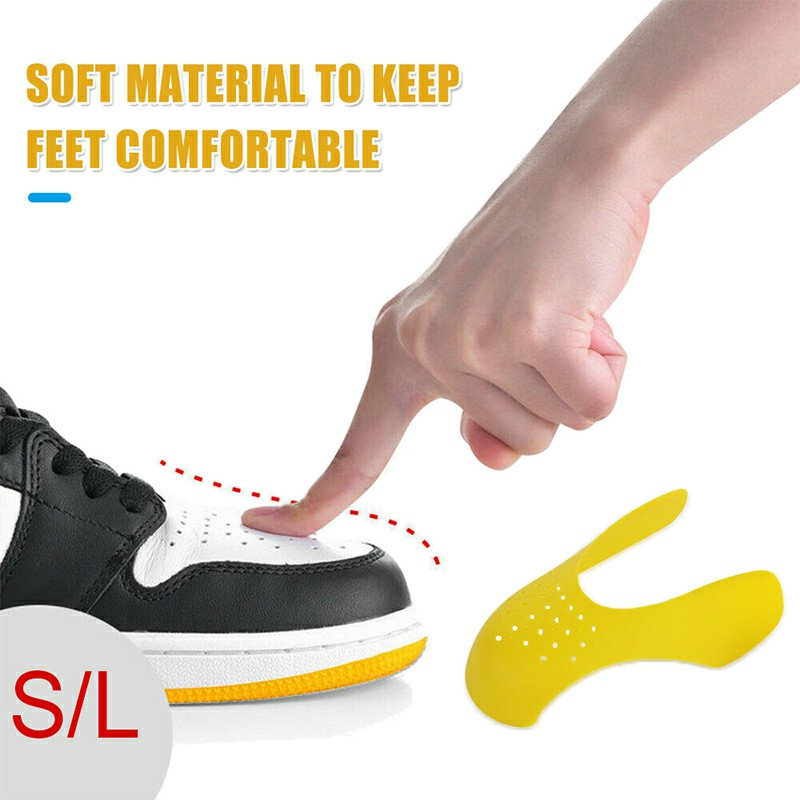 Official Crease Preventer Protector Sneaker Shoe Shield Anti Crease Guard Pair
