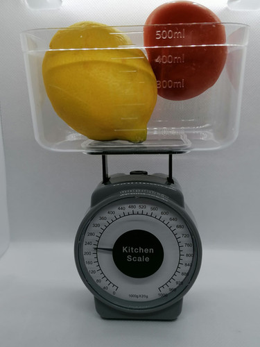 Nifty Kitchen Stuff Mini Weighing Scales Up To 1kg Grey Food Scale New and Boxed