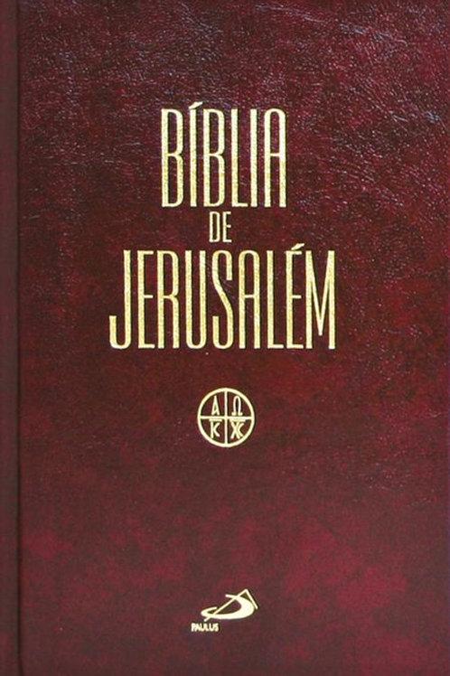 Bíblia de Jerusalém - Grande Encadernada