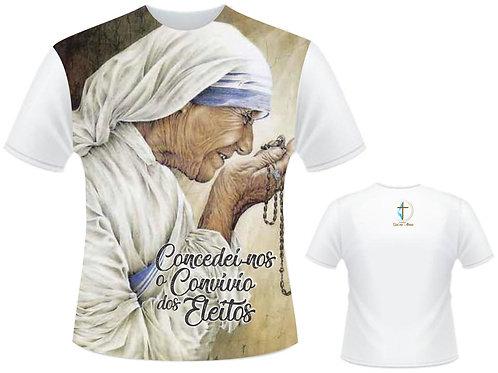 Camiseta Santa Madre Teresa - Coleção: Concedei o convívio dos eleitos