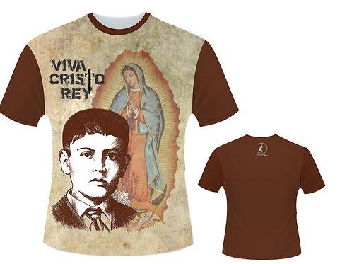 Baby Look - Nossa Senhora de Guadalupe e São José Luís Sánchez