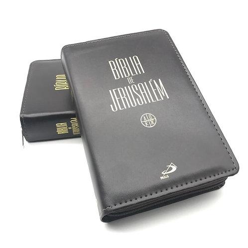 Bíblia de Jerusalém - Média - Capa Luxo