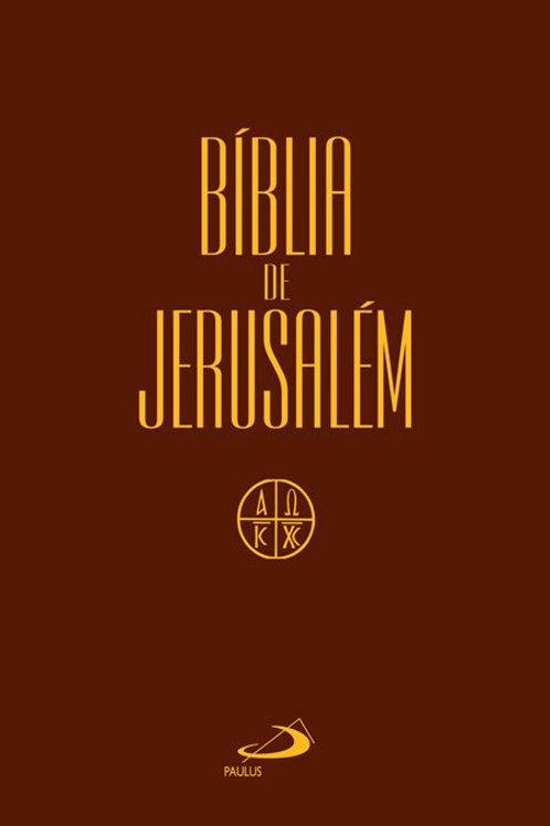 Bíblia de Jerusalém - Média Cristal