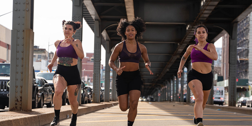 WOMEN WHO RAGE: Hill Workout