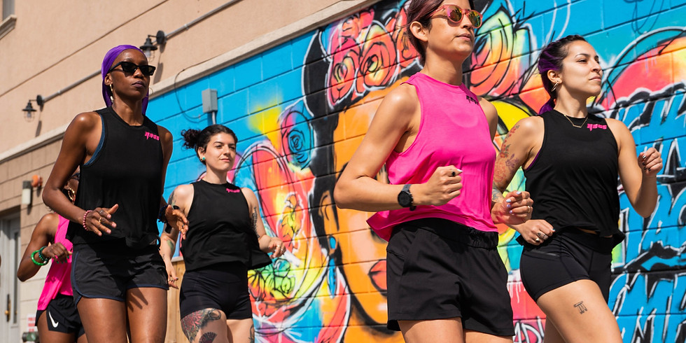 WOMEN WHO RAGE: Intervals Run