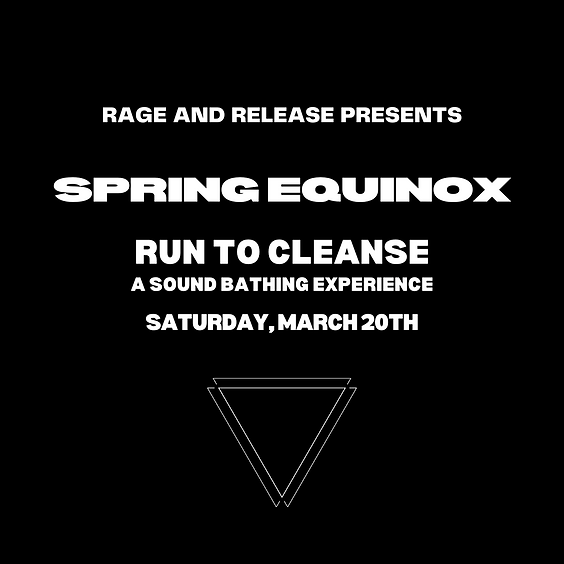 Spring Equinox: Run to Cleanse