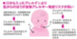 アレルゲン感作の模式図